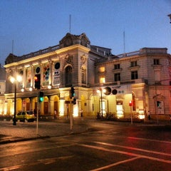 Photo taken at Teatro Municipal de Santiago by Felipe P. on 1/19/2013
