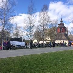 Photo taken at Liedon kirkko by Ulrika M. on 5/9/2015