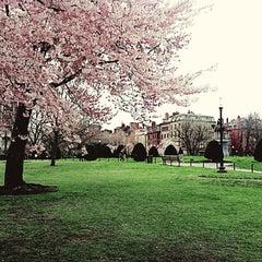 Photo taken at Boston Common by Melis Y. on 4/20/2013
