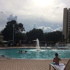 Photo taken at Contemporary Resort Pool by Melissa W. on 9/27/2015
