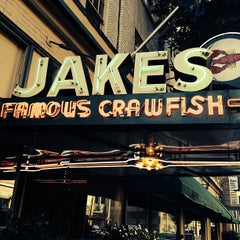 Photo taken at Jake's Famous Crawfish by Matt A. on 9/23/2013