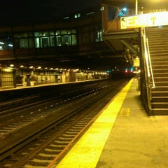 Photo taken at LIRR - Woodside Station by David M. on 9/29/2012