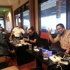 Photo taken at Mazzagena Coffee & Resto by ReshaWeb I. on 2/14/2014