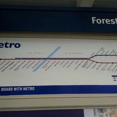 Photo taken at MetroLink - Forest Park Station by Krista L. on 7/10/2013