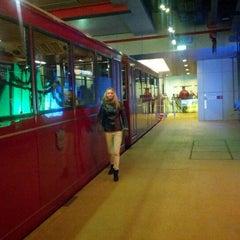 Photo taken at Peak Tram Upper Terminus 山頂纜車凌霄閣總站 by Aleksey P. on 12/31/2012