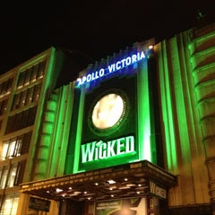 Photo taken at Victoria Palace Theatre by Conchi S. on 10/16/2012