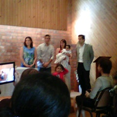 Photo taken at Colegio Santa María Marianistas by Machi S. on 12/22/2012