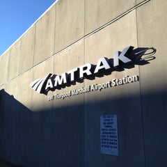 Photo taken at BWI Amtrak/MARC Rail Station (BWI) by Marcus on 1/19/2013
