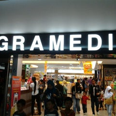 Photo taken at Gramedia by Ade A. on 4/14/2013