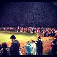 Photo taken at Masconomet Regional High School by Tom B. on 9/21/2012