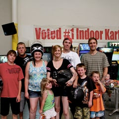 Photo taken at Fast Lap Indoor Kart Racing by Fast Lap Indoor Kart Racing on 11/19/2014