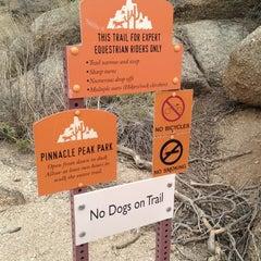 Photo taken at Pinnacle Peak Park by Ricky P. on 12/30/2012