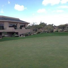 Photo taken at Troon North Golf Club by Ricky P. on 12/9/2013