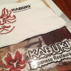 Photo taken at Kabuki Japanese Restaurant by Sheryl H. on 11/17/2012