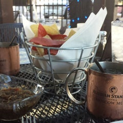Photo taken at Blue Adobe Grille by Ann Marie P. on 10/23/2014