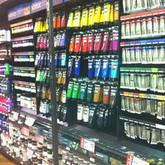 Photo taken at Blick Art Materials by Daru T. on 12/12/2012