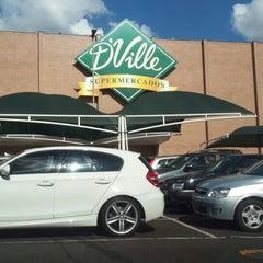 Photo taken at D'Ville Supermercados by Trem D. on 7/2/2013