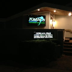 Photo taken at Kelly's Outer Banks Restaurant & Tavern by Abbi S. on 2/9/2013