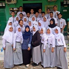 Photo taken at SMA Negeri 1 Pekanbaru by Titin L. on 6/2/2014