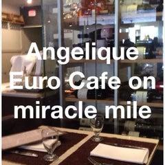 "Photo taken at Angelique Euro Café by James ""Jim"" R. on 7/20/2014"