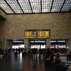 Photo taken at Stazione Firenze Santa Maria Novella by Edwin K. on 4/18/2013