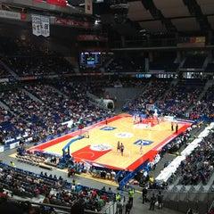 Photo taken at Barclaycard Center - Palacio de Deportes de la Comunidad de Madrid by Isabel S. on 1/27/2013