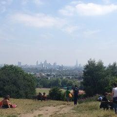 Photo taken at Hampstead Heath by Steve B. on 7/21/2013