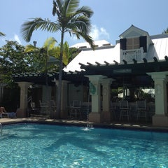 Photo taken at Southernmost Hotel in the USA by Denise F. on 4/14/2013