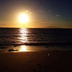 Photo taken at The Beach At The End Of Welakahao by Stephanie C. on 3/12/2014