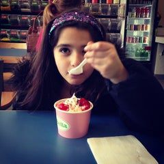 Photo taken at FroYo Bella by Aj K. on 3/3/2013