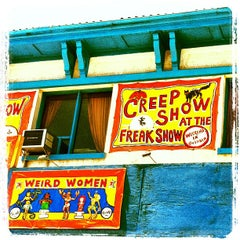 Photo taken at Coney Island USA - Museum & Freak Show by jim w. on 7/5/2013