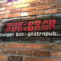 Photo taken at ROK:BRGR by Brad D. on 11/23/2012