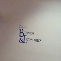 Photo taken at Business & Economics by Sasja C. on 10/4/2012