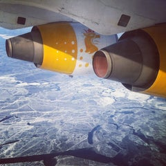 Photo taken at Umeå Airport (UME) by Wouter V. on 3/13/2013