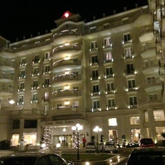 Photo taken at Grand Hotel Palace by Denis P. on 1/7/2013