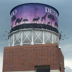 Photo taken at Detroit Zoo Water Tower by Melissa G. on 5/30/2013