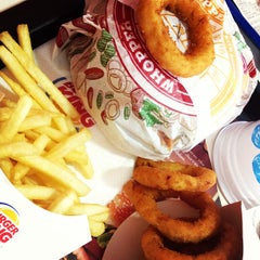 Photo taken at Burger King by William A. on 4/9/2013