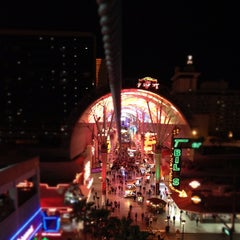 Photo taken at Fremont Street Flightlinez by Christian Z. on 10/26/2012