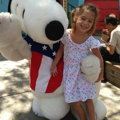 Photo taken at Camp Snoopy by Beth T. on 7/7/2013