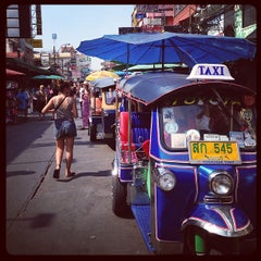Photo taken at ถนนข้าวสาร (Khao San Road) by Mike C. on 1/9/2013