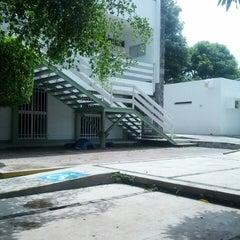 Photo taken at Facultad de Letras y Comunicación by Jonathan L. on 6/11/2014
