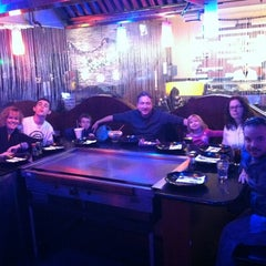 Photo taken at Shogun Hibachi And Asian Garden by Kelly C. on 1/4/2013