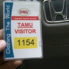 Photo taken at PT. Sritex by Rifqi A. on 12/5/2012