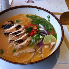 Photo taken at Wagamama by Rachel C. on 2/16/2013
