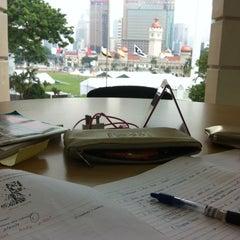 Photo taken at Perpustakaan Kuala Lumpur (Library) by Ezzaryn E. on 5/25/2015