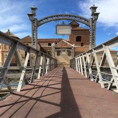 Photo taken at Puente de los Alemanes by Rusko E. on 3/1/2015