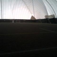 Photo taken at Lamport Stadium by Aubrey H. on 3/24/2013