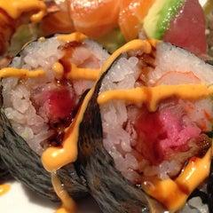Photo taken at Cafe Sushi by David M. on 10/26/2012
