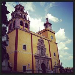 Photo taken at Basílica Colegiata de Nuestra Señora de Guanajuato by Francisco G. on 6/4/2013
