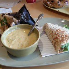Photo taken at Panera Bread by Efrain L. on 12/21/2014